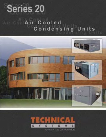 Series 20 Air Cooled Condensing Units - Titan Air