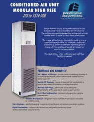 Modular Hi-Rise Series Conditioned Outside Air Option - IEC ...