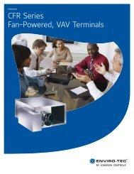 CFR Series Fan-Powered, VAV Terminals, Catalog, ET130.13 ... - HTS