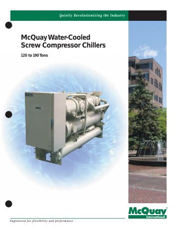 mcquaywater-cooled--compressor-chillers-hts Ycas Chiller Wiring Diagram on