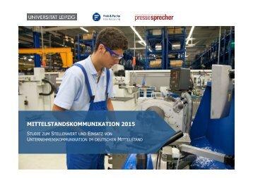 Studie-Mittelstandskommunikation-2015-Ergebnisbericht