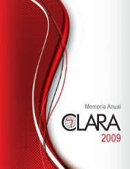Memoria CLARA 2009 - RedCLARA