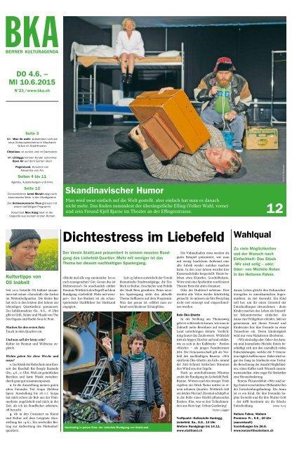 Berner Kulturagenda 2015 N° 23