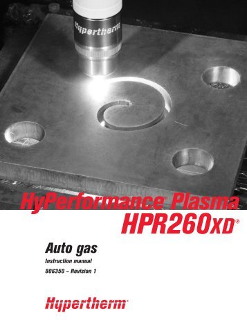 HyPerformance® Plasma - Wouters Cutting & Welding