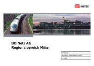 S-Bahn-Ausbau Frankfurt (West) – Bad Vilbel - Deutsche Bahn AG