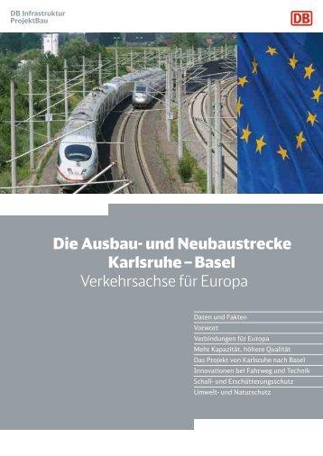 Verkehrsachse für Europa - Deutsche Bahn AG