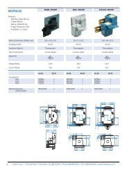 RECEPTACLES - Seagate Control Systems
