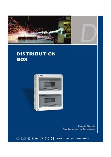 DISTRIBUTION BOX - PEOPLE ELE.APPLIANCE GROUP CHINA