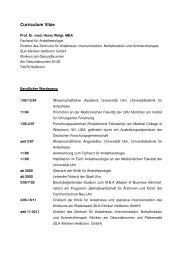 Curriculum vitae pdf - SLK-Kliniken Heilbronn GmbH