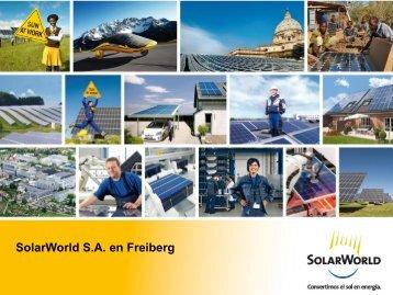 Solar World, S.A. - AHK ZAKK