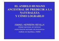 el anhelo humano ancestral de predecir a la naturaleza y cómo ...