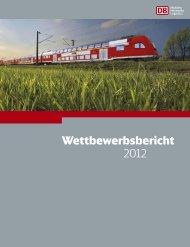 Markt & Wettbewerb - Deutsche Bahn AG