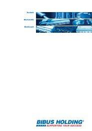 Partner für Technik, Werkstoffe und Elektronik ... - Bibus Metals AG
