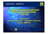 CENTRO • WMPTA - SmartCard Networking Forum
