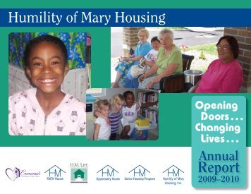 Report - Humility of Mary Housing