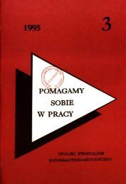 1995 - Bibliotekarz Opolski