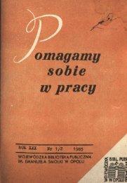 A* omagamy sobie w pracy - Bibliotekarz Opolski