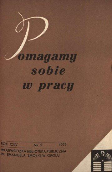 m. emanuela smolki w opolu - Bibliotekarz Opolski