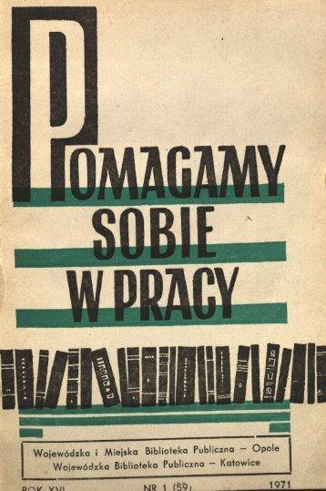 ę nmr W PRACY - Bibliotekarz Opolski