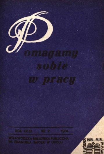 ex libris - Bibliotekarz Opolski