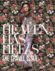 HEAVEN HAS HEELS | Summer Issue 2015