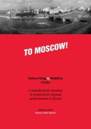 To Moscow! Networking & Mobility Guide - Rtlb.ru