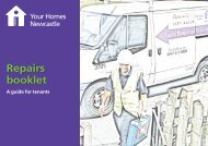 to download a copy of the repairs handbook (pdf) - Your Homes ...