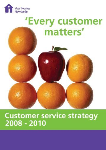 Customer Service Strategy   Your Homes Newcastle. Garden care leaflet 1b   Your Homes Newcastle