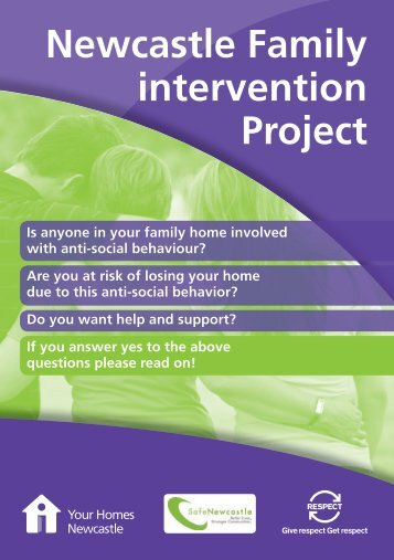 Newcastle Family intervention Project - Your Homes Newcastle