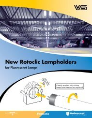 New Rotoclic Lampholders - Universal Lighting Technologies