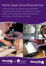 Leaseholders Repair Flyer (pdf) - Your Homes Newcastle