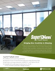 SuperDim Brochure - Universal Lighting Technologies