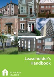 Buying, selling or subletting a leasehold property (pdf) - Your Homes ...