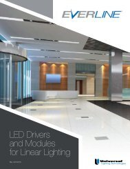 EVERLINE LED Linear Brochure - Universal Lighting Technologies