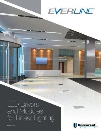 EVERLINE LED Linear Brochure - Universal Lighting Technologies