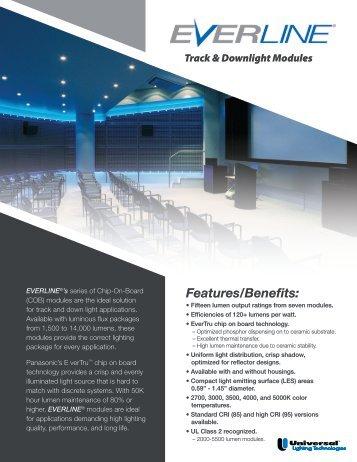 EVERLINE LED Track-Downlight Brochure - Universal Lighting ...