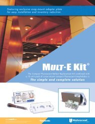 Mult-E CFL Brochure - Universal Lighting Technologies
