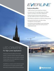 Outdoor LED Drivers - Universal Lighting Technologies