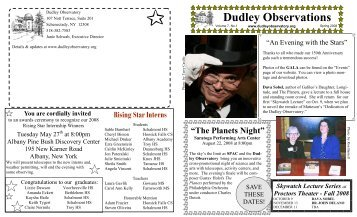 4/2008 - Dudley Observatory