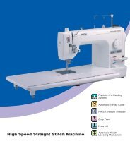 Download a PDF brochure - Echidna Sewing Products