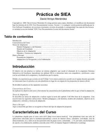 Práctica de SIEA - David Arroyo Menéndez