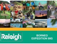 BORNEO EXPEDITION 08G - Raleigh