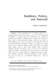 Buddhism, Politics, and Statecraft - Buddhism.org