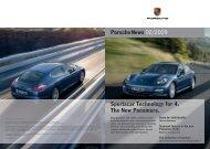 Porschenews 02/2009 Sportscar Technology for 4. The New ...