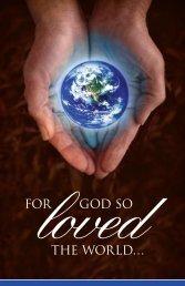FOR GOD SO THE WORLD… - Outreach