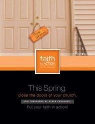 This Spring, - Outreach