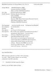 MAGDAS Newsletter - Vol. 1, No. 18.pdf
