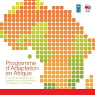 AAP_brochure FR lowres -2011.pdf - Africa Adaptation Programme