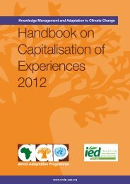 Handbook of Capitalisation 2012.pdf - Africa Adaptation Programme