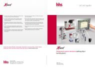 Zintegrowany system sterowania aplikacją kleju i ... - hhs-systems.de